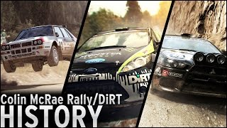 History of - Colin McRae Rally/DiRT (1998 - 2015)