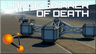 BeamNG Drive Large Spinner of Death