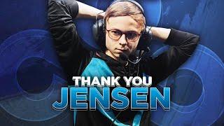 """Thank you: Nicolaj """"Jensen"""" Jensen"""