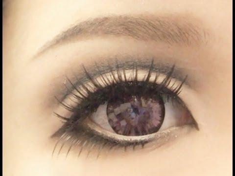 Anime Eyes Makeup Cosplay Tutorial Anime Eye Makeup 2