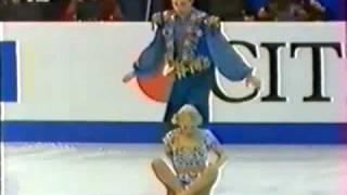 Oksana Grishuk  Evgeny Platov. Worlds Championship 1997. Free dance.