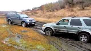 Light off road Ford Escape Hybrid & Nissan Pathfinder...