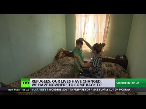 'Nowhere to come back to': Families split as women, kids flee from Ukraine war