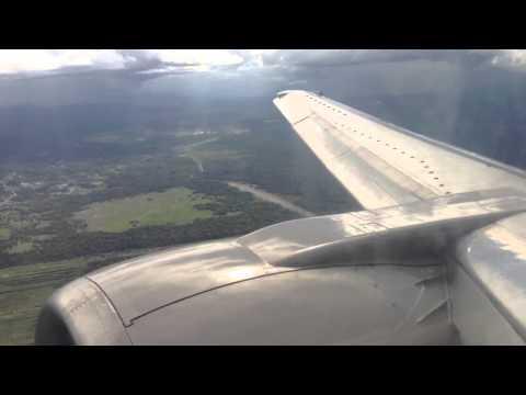 Landing at Brunei international airport