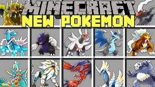 Minecraft NEW POKÉMON MOD l CAPTURE NEW POKÉMON AND LEGENDARIES! l Modded Mini-Game