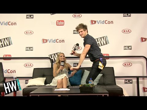 Joey Graceffa Twerks & Geeks Out Over 'Minecraft'!