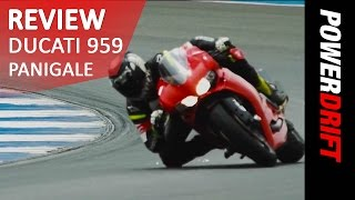 Ducati 959 Panigale : Review : PowerDrift