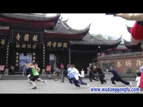 Wudang Kung Fu - Bajiquan - International Traditional Class Image 1