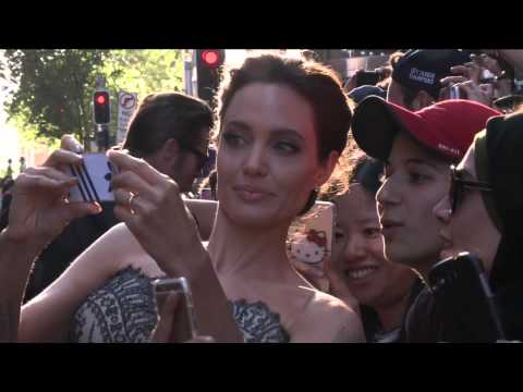 Unbroken: Angelina Jolie, Miyavi & Cast's Arrivals at Australian World Movie Premiere