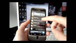 HTC G2 Desire Z Vision Full Customization Tutorial -- Part 1 How to Root
