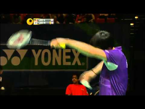 SF - MS - Lee Chong Wei vs Lee Hyun Il - 2012 All England