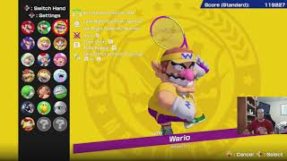 Mario Tennis Aces Patch 2.0.0 Character Overview
