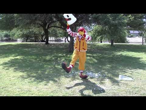 Ronald McDonald Accepts ALS Ice Bucket Challenge | Fun Makes Great Things Happen | McDonald's