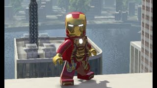 IRON MAN MARK 42 - LEGO Marvel Superheroes (FREE ROAM)