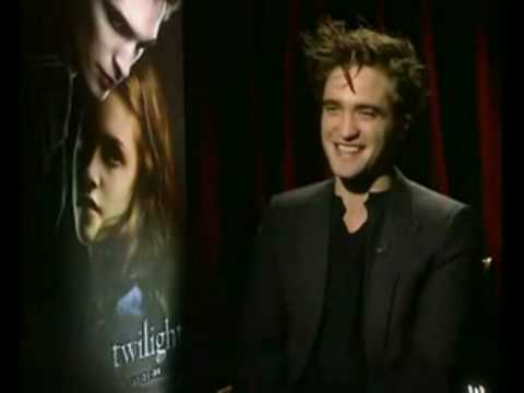 Funny Interview Moments with Robert Pattinson (8) Video
