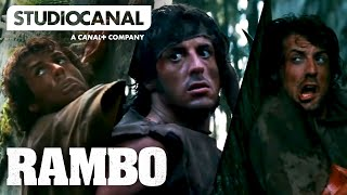 TOP SCENES FROM RAMBO: FIRST BLOOD - Starring Sylvester Stallone