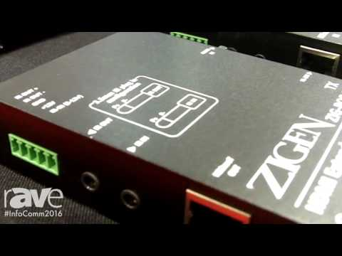 InfoComm 2016: ZIGEN Shows POE-70 HDMI Extender