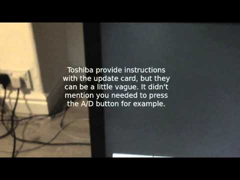 Repair of Toshiba LCD/Plasma TV with no DTV/Freeview or faulty DTV/Freeview