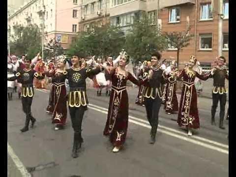 Афонтово: Празднование Дня города в Красноярске