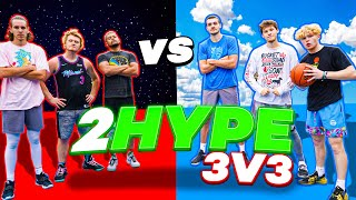 INSANE 2HYPE 3v3 Basketball Feat. AJ Lapray!