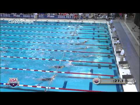 Women&#039;s 100m Backstroke A Final - 2012 Columbus Grand Prix