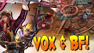 Vox & Blackfeather - Tearing Up Battle Royale! | Vainglory - 2 Battle Royale Matches
