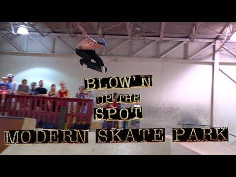 Blow'n Up The Spot: Modern Skatepark   Independent Trucks
