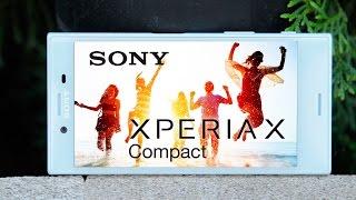 Видео-обзор смартфона Sony Xperia X Compact