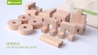 Đổ chơi ghép gỗ thông minh hình xe