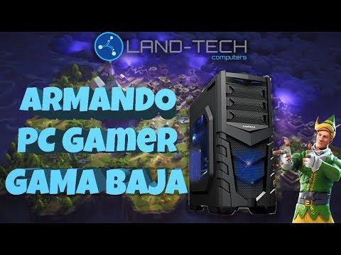ARMADO PC GAMER GAMA BAJA para FORTNITE! | #LTGAMER