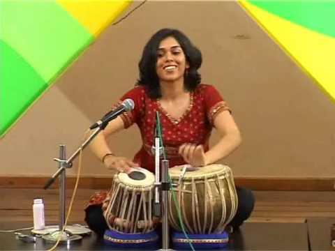 Heena Tabla Solo Pt 1 (1 Yr Later) - Female Tabla Player Delhi...