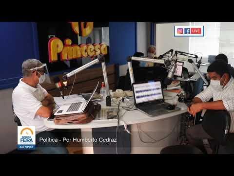 Por Humberto Cedraz - Pesquisa eleitoral aponta empate entre Colbert e Zé Neto em Feira de Santana