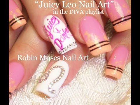 Nail Art Design - Zodiac Sign - DIY Leo Nails Tutorial