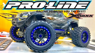 TRAXXAS X-MAXX -PROLINE BADLANDS MX43-CUSTOM-STAINLESS STEEL