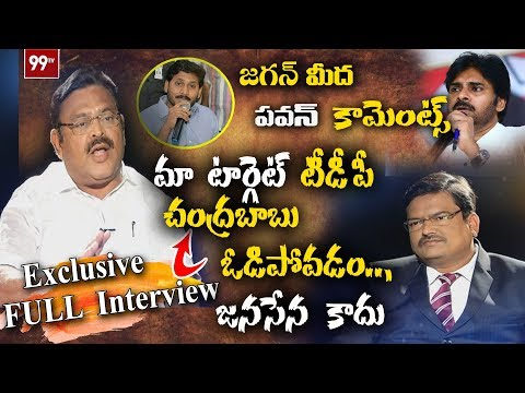 YCP Leader Ambati Rambabu Exclusive Interview | View Point with Gangadhar | 99 TV Telugu