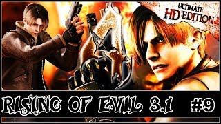 RESIDENT EVIL 4 HD MOD RISING OF EVIL 3.1 ( NÍVEL HARD ) #9
