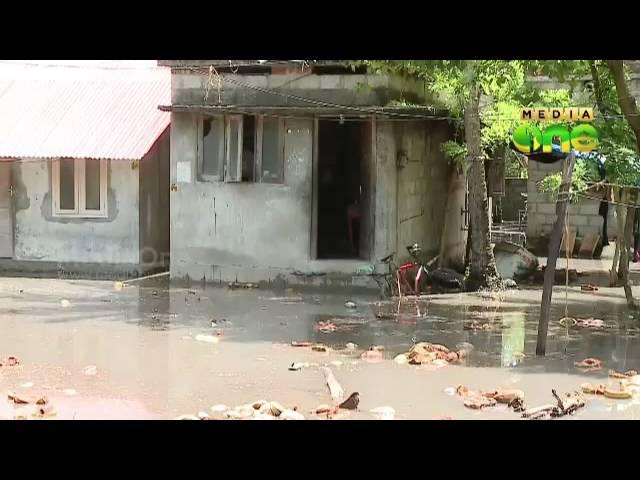 Heavy rain lash Thiruvananthapuram