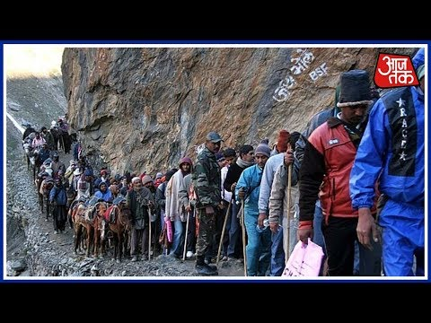 Terrorists Attack Police Convoy Guarding The Amarnath Yatra Pilgrims