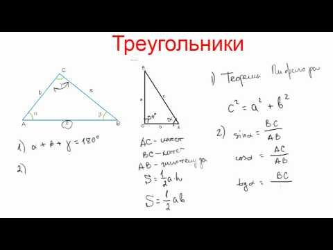 Миникурс по геометрии. Треугольники