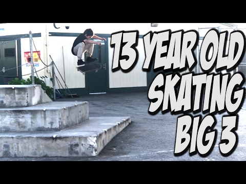 ORLANDO GARCIA SKATEBOARDING IN THE STREETS !!! - A DAY WITH NKA -
