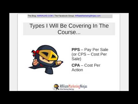 4. Types Of Affiliate Programs & Commission Structures (Affiliate Marketing Crash Course).