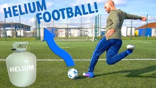 THE HELIUM FOOTBALL TEST!