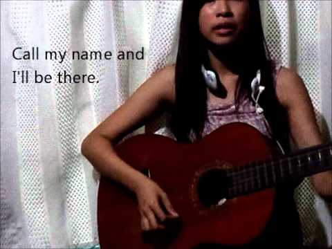 I'll Be There - Julie Anne San Jose (acoustic cover with lyrics)