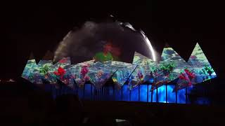 """Spectacular laser show """"Wings of Time"""" @ Sentosa, Singapore (2017)"""