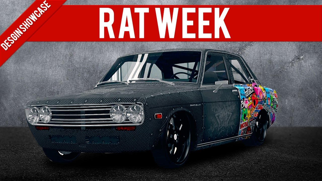 Forza Horizon Design Showcase Sticker Bombed Rat Youtube
