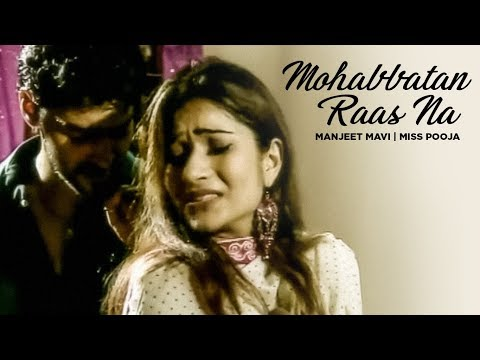 mohabbatan Raas Na Miss Pooja (sad Song) video