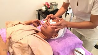 Zezetv went to Paradise Salon & Spa for Facial Treatment