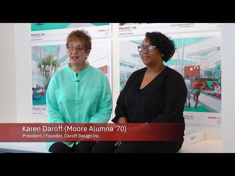 Alumna & Student Working in Harmony // Karen Daroff '70 & Shakira Hunt '16