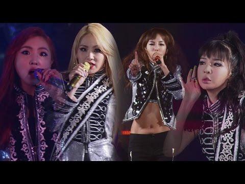 2ne1 - 'crush' + 'fire' In 2014 Yg Family World Tour -power- In Japan video