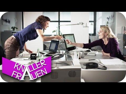 Buerobedarf - Knallerfrauen mit Martina Hill in SAT 1